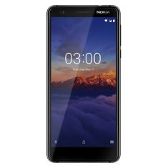 """[Open Box - As New] Nokia 3.1 2018 (5.2"""", 13MP, Android One) - Black/Chrome - main"""