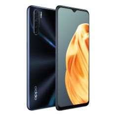 OPPO A91 (Dual SIM 4G, 48MP, 128GB/8GB) -  Lightning Black Combo