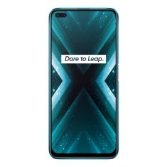 "realme X3 SuperZoom (Dual SIM 4G, 6.57"" 120Hz, 128GB/8GB) - Glacier Blue Front"