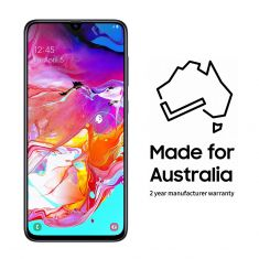 Samsung Galaxy A70 Black Australia