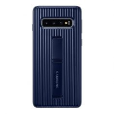 Samsung Galaxy S10 Protective Standing Cover - Black Back