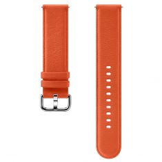 Samsung Galaxy Watch Active Leather Band 20mm ET-SLR82MOEGWW - Orange-main