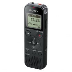 Sony 4GB Digital Voice Recorder with Built-in USB ICDPX470 - Black-main