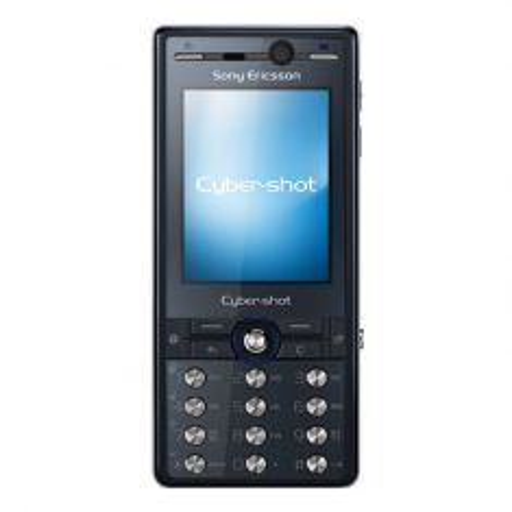 Sony Ericsson K810i - Blue Front