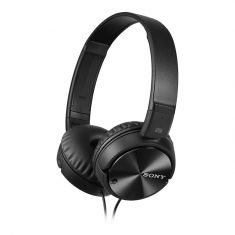 Sony MDR-ZX110NC Noise Canceling Headphones - Black Front