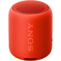 Sony SRS-XB12 Extra Bass Portable Wireless Bluetooth Speaker - Red - Front