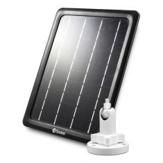 Swann Outdoor Solar Panel with Outdoor Mount Stand for Wire-Free Security Cameras- main