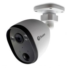 Swann SWIFI-SPOTCAM-GL 1080p Spotlight Outdoor Security Camera - White - main