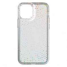 Tech21 Evo Sparkle Case for iPhone 12 mini T21-8622 - Clear-back