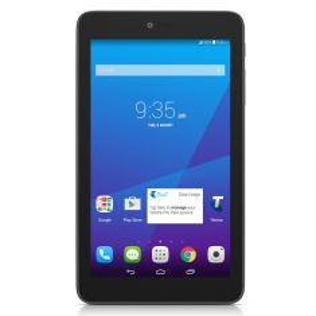 Telstra Essentials 9002A 3G Tablet - Black Front