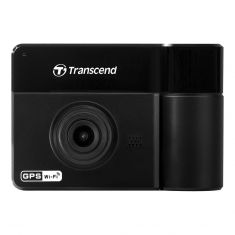 Transcend DrivePro 550 Dual Lens DashCam Dash Camera with 64GB MicroSD Front