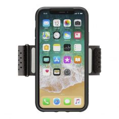 Belkin Fitness Armband for iPhone X - Black-front