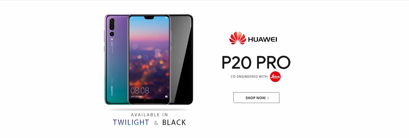 Huawei P20 Pro (Twilight & Black)