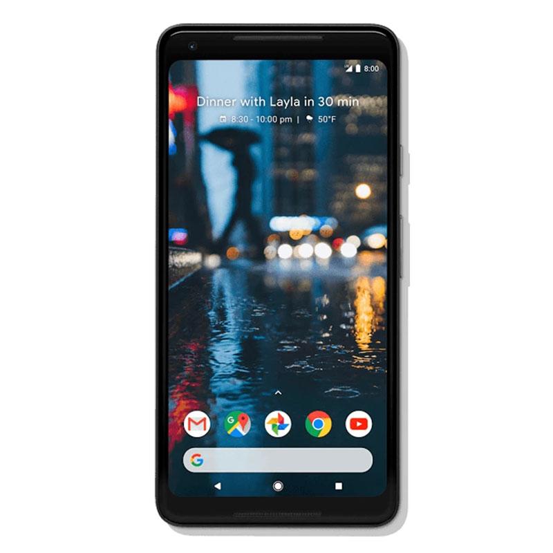"""Google Pixel 2 XL (6.0"""", 64GB/4GB, 12.2MP) - Just Black"""